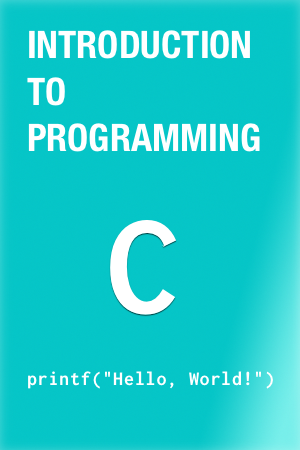 Intro to C book cover